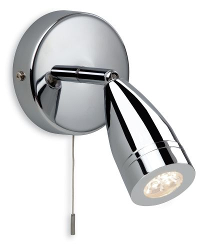 Firstlight 8381CH Chrome Storm LED Single Spot